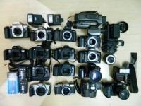 Lote de Maquinas fotograficas