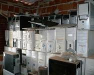 Lote de computadores e peças para PC