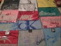 Lote de Camisetas Multimarcas