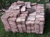 Lote de bloquetes intertravados raquete mais de 1000 mt quadrados