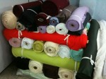 Vendo lote de tecidos de malharia por kg.