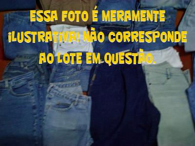 e807337d1dc Lote de calças jeans usadas