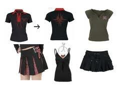 1ded62067 Lote de roupas importadas do Japão