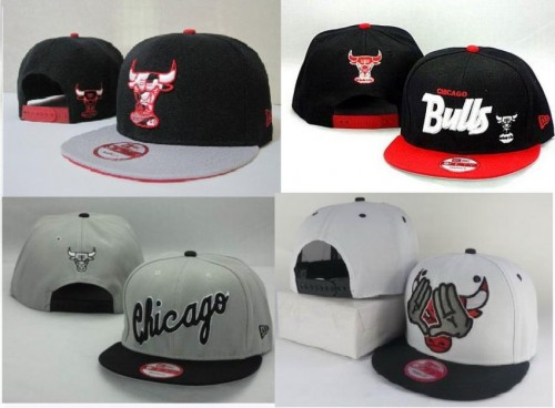 Lote de Bonés do Chicago Bulls 01fcbd0b446