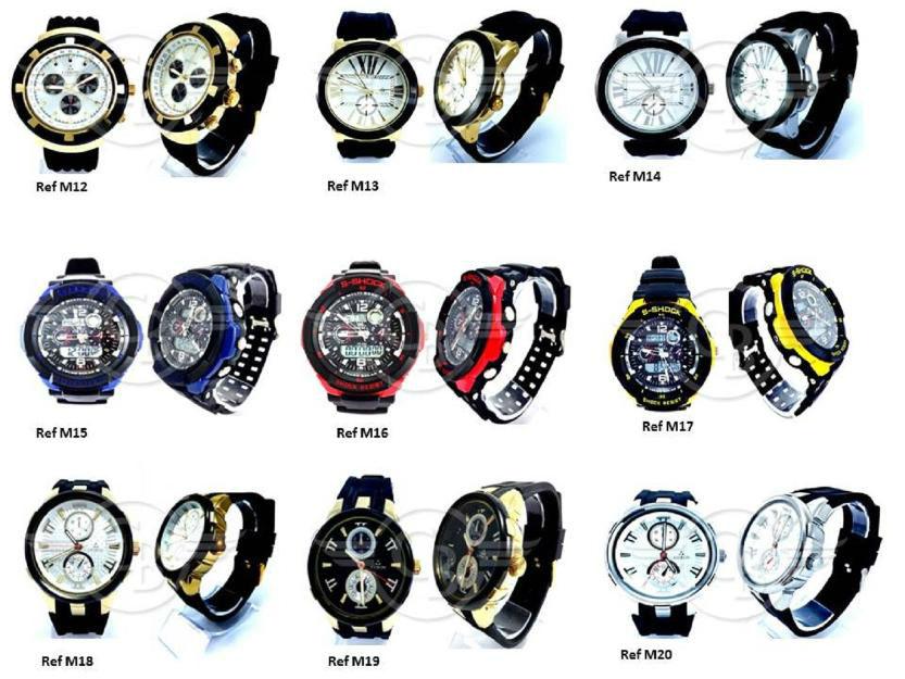 Lote com 100 Relógios f19e75e1c7