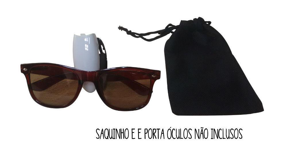 f9c219eff374f Lote de Óculos de Sol Marrom Madeira