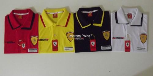 b96e4c12d4962 Kit com 12 de Camisas Polo Ferrari