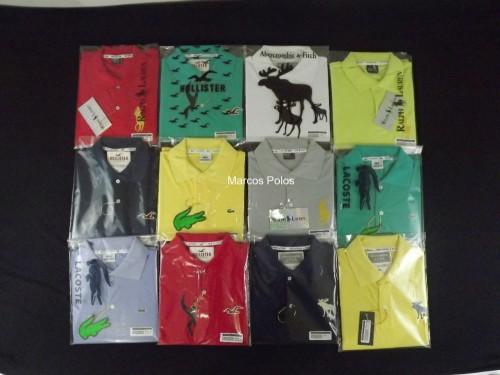 5717edfe5 ... Camisas Pólos Masculina Kit 06 ...
