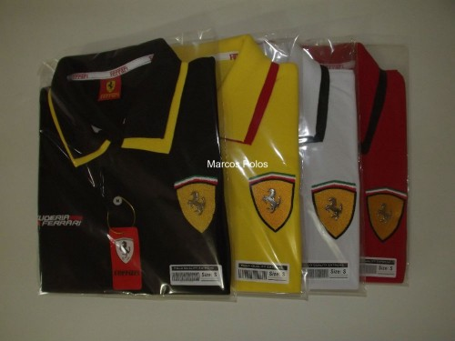 7680cd64b3ab8 Kit com 12 de Camisas Polo Ferrari