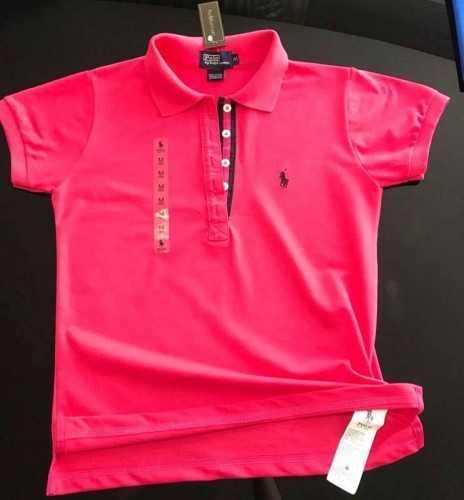 7eee3afa0637e Camisetas Polo Femininas Importadas do Peru
