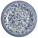 101004 Prato de melamina decorado 20cm 1