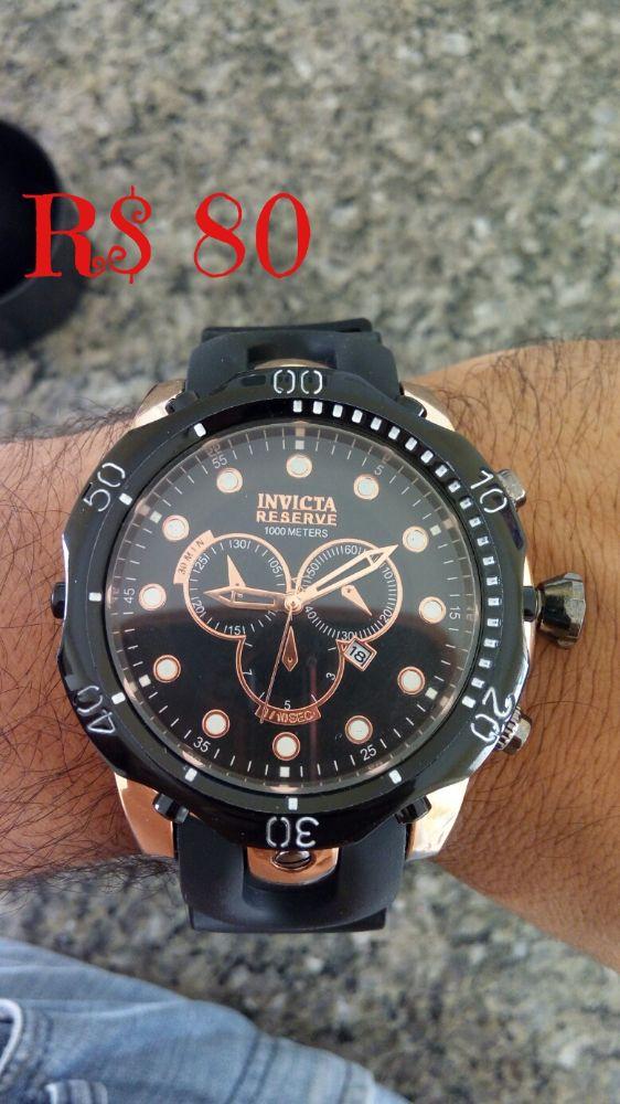 de2ac040f5d Lote 7 Relógios Invicta