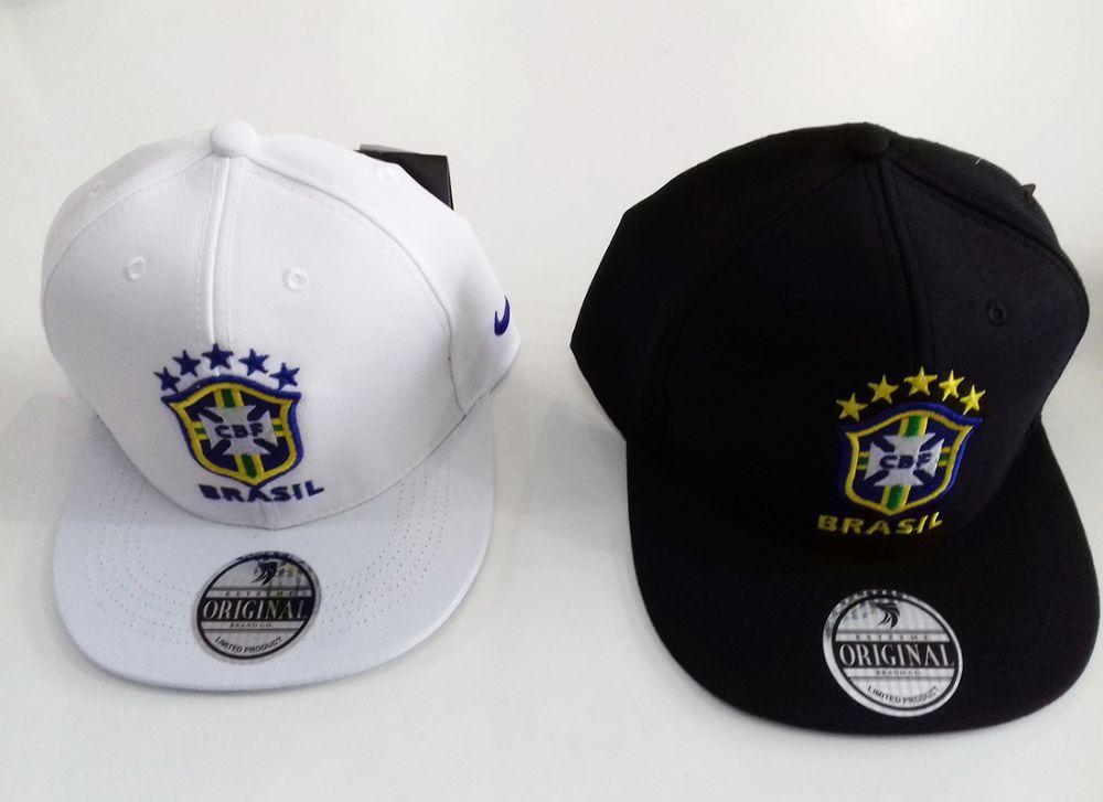 Boné Seleção Brasileira – Aba Reta 3938d664e10
