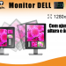 1 Monitor led 19 dell