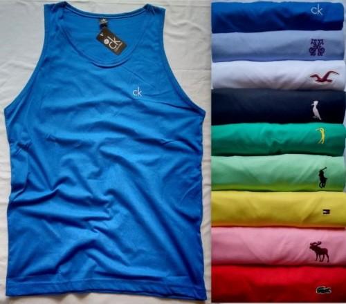 100 Camisetas Regatas Masculinas Marca Bordada Grifes Famosas 9f9ce934f0b