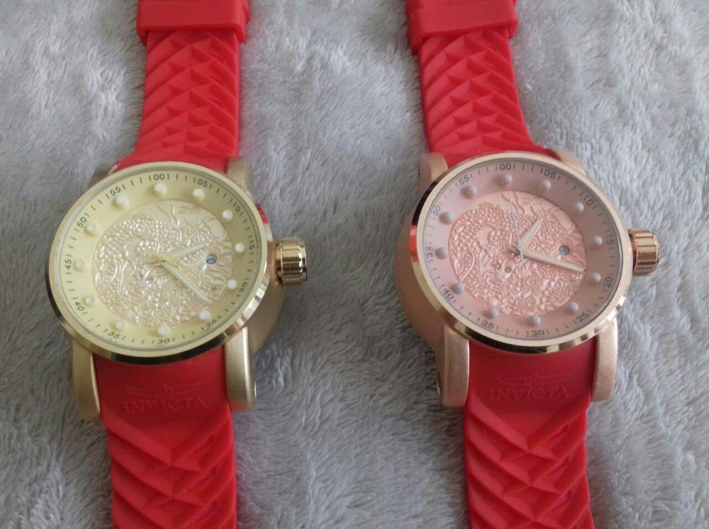 f0ca89b0e38 Lote 10 Relógios Invicta Yakusa Dragon S1 Unissex Varias Cores