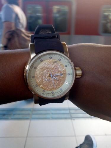 2931232149f Lote 10 Relógios Invicta Yakusa Dragon S1 Unissex Varias Cores