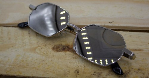 dd198cd24a28d Óculos Pequeno Retrô Sol Vintage