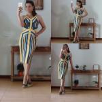 571 - Vestido Midi Espanha_Amarelo
