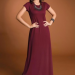 vestido malha canelada preto 2